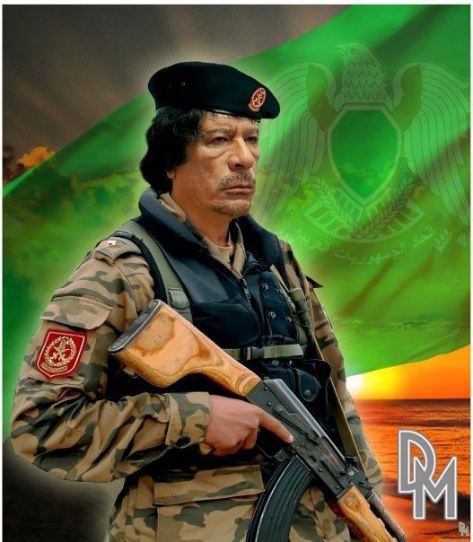 Man of peace forced to defend his Jamahiriya