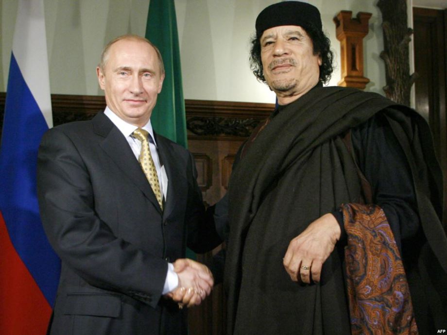 Mu w Putin in Russia