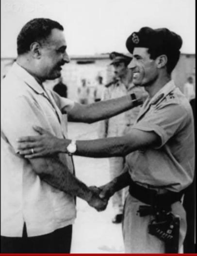 Muammar greeting Nassar