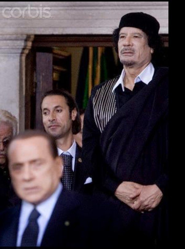 Muammar, Billah and Berlusconi