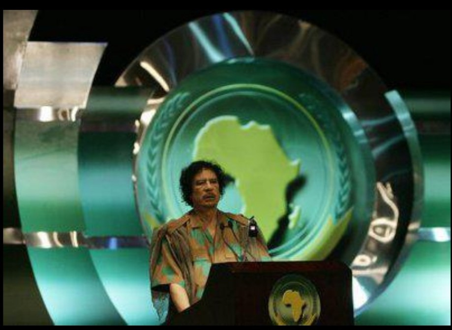 Muammar speaks at African Union