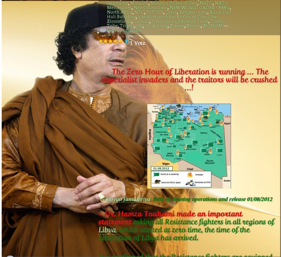 be74933317328 We Martyr Muammar Gaddafi