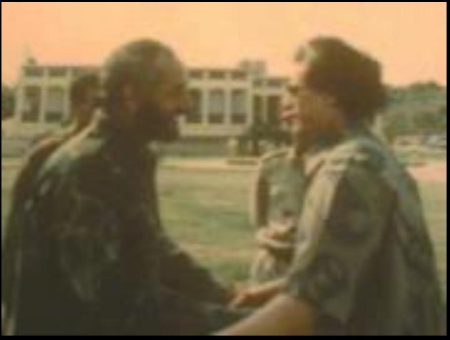 8b5ed92e13b96 The photo shows a Gadhafi aged
