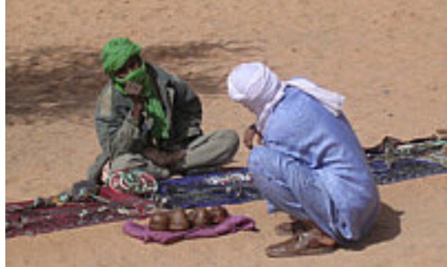 Ubari traders