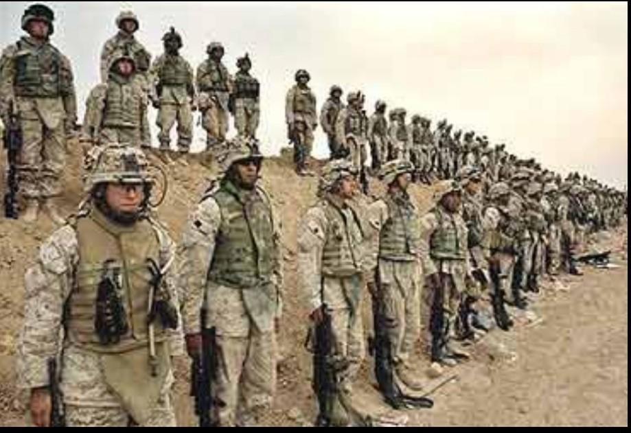 NATO merenary war machines