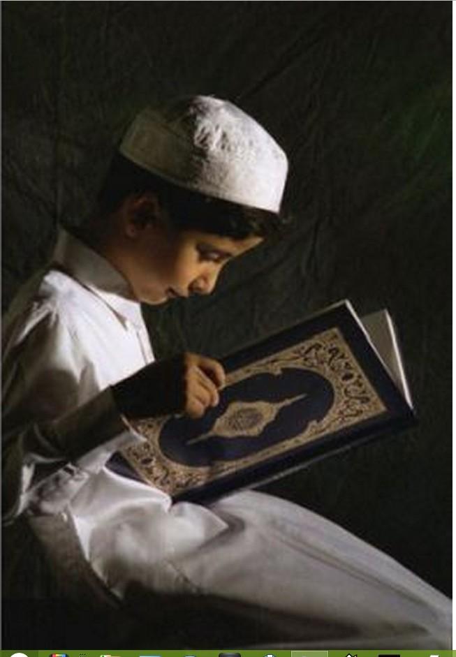 Child studies Quran