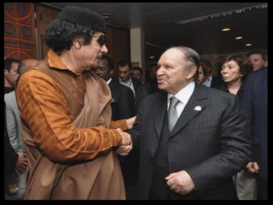 Mu and Bouteflika in Algeria