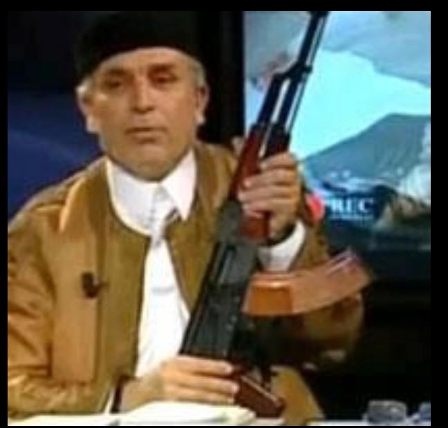 Dr. Hamza Thami w rifle