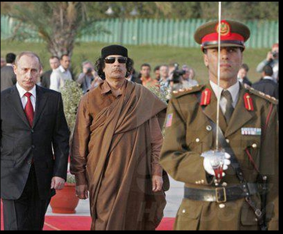 Muammar and Putin