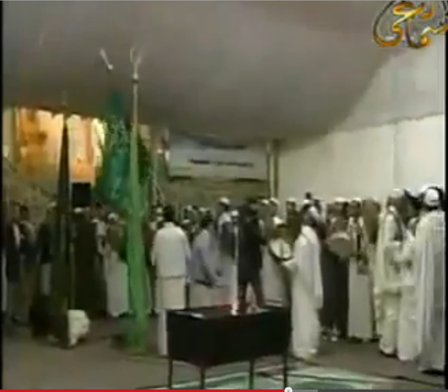 Green Flag at al-Asmar mosque in Zlitan