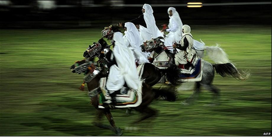 Libyan Zinatni horsemen