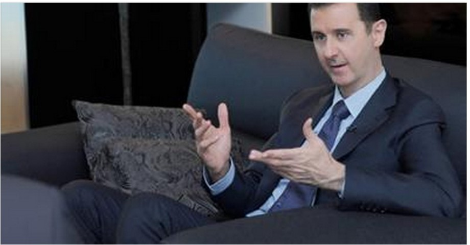 Assad tells Obama to stop arming mercenaries and rebels