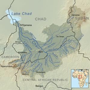 Chari+Rive+and+Lake+Chad