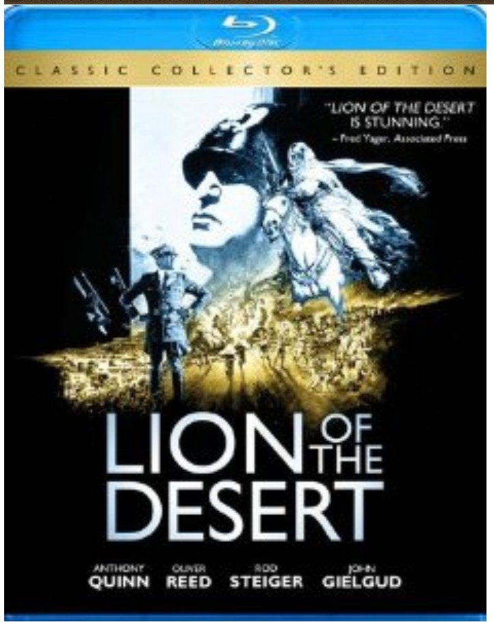 Lion of the Desert on Blu-ray