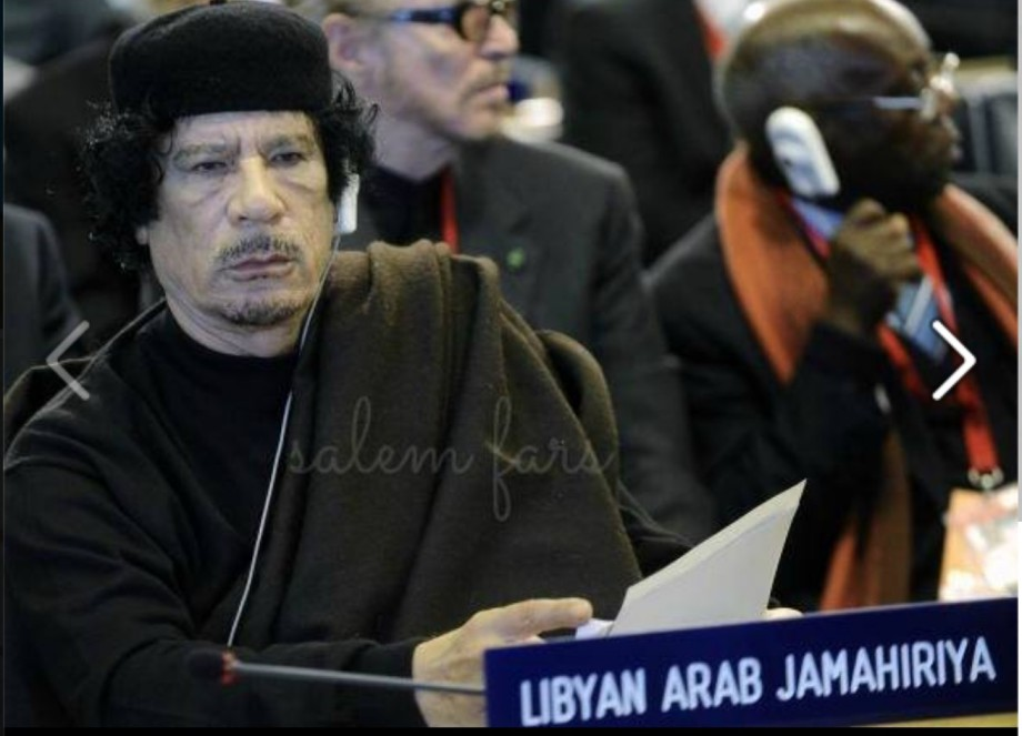 Mu created the Great LIBYAN ARAB JAMAHIRIYA