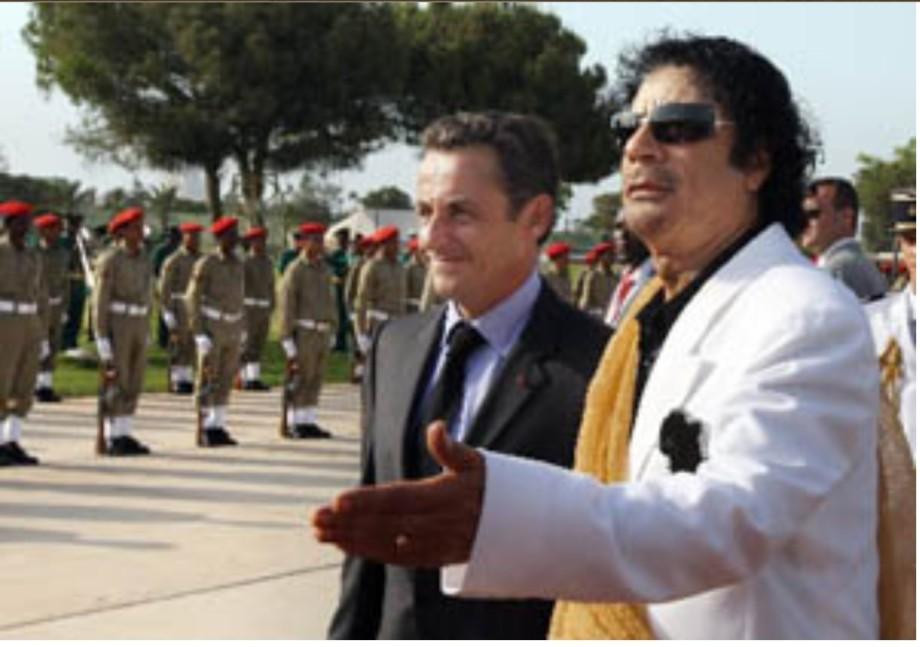Mu w Sarkozy in Niger 2007