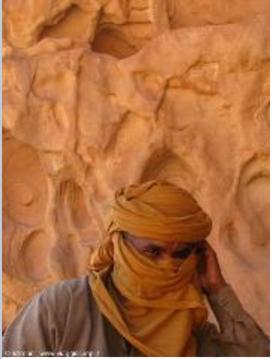 Amazigh of Ghadames area of Nafusa Mountains