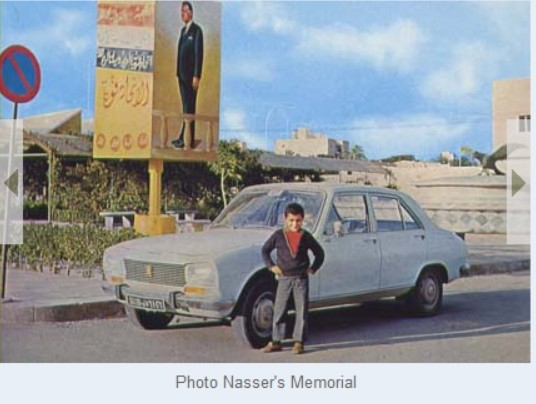 Derna's Nasser memorial -past no more