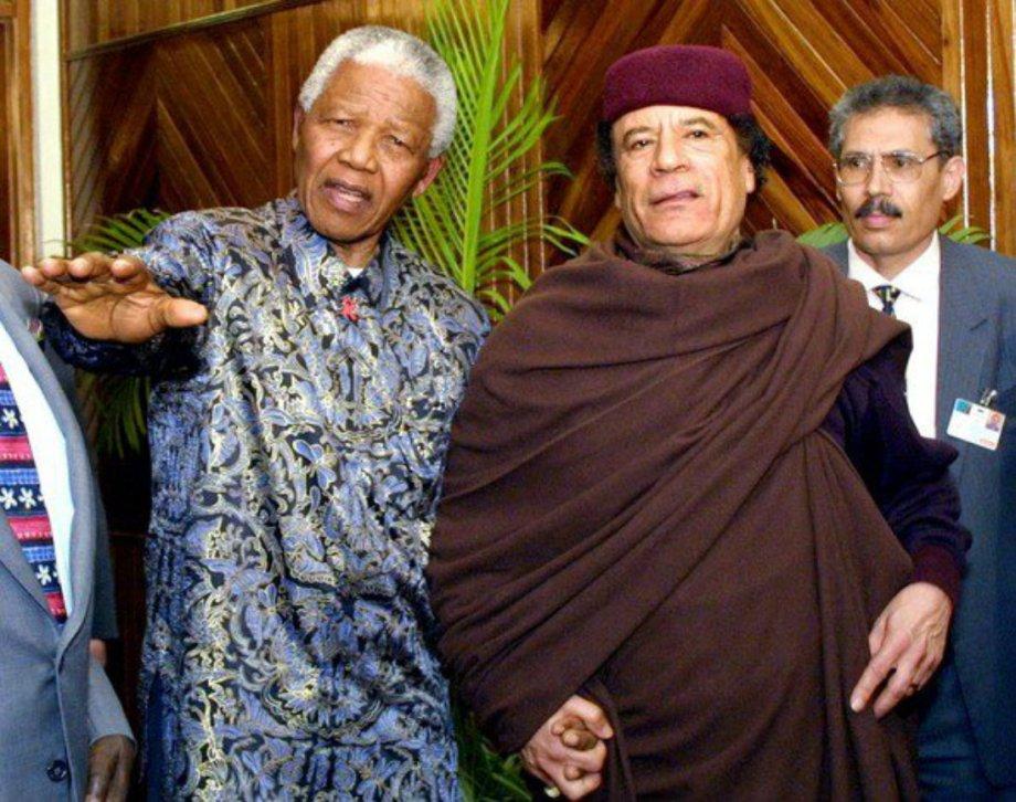 Gadhafi and Mandela 2