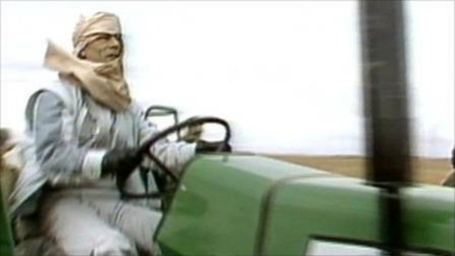 Gadhafi Tractor 2