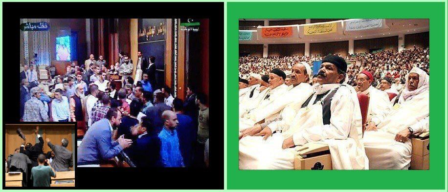 Great Jamahiriya direct democracy vs. Idiots of GNC