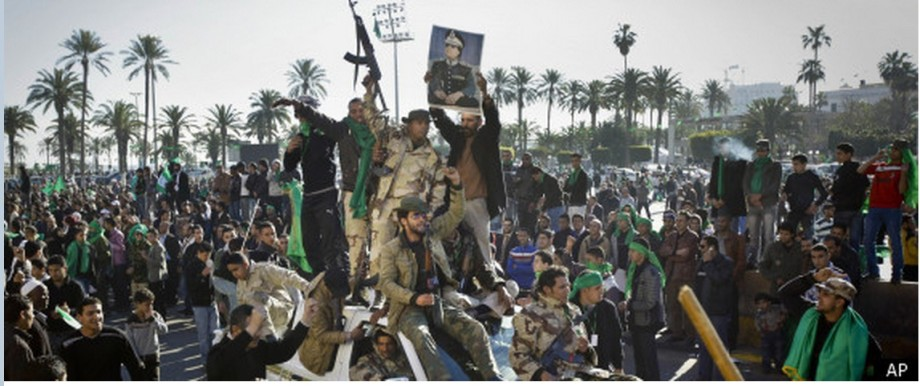 GREEN ARMY  fighting imported Salafist Terrorism in Libya