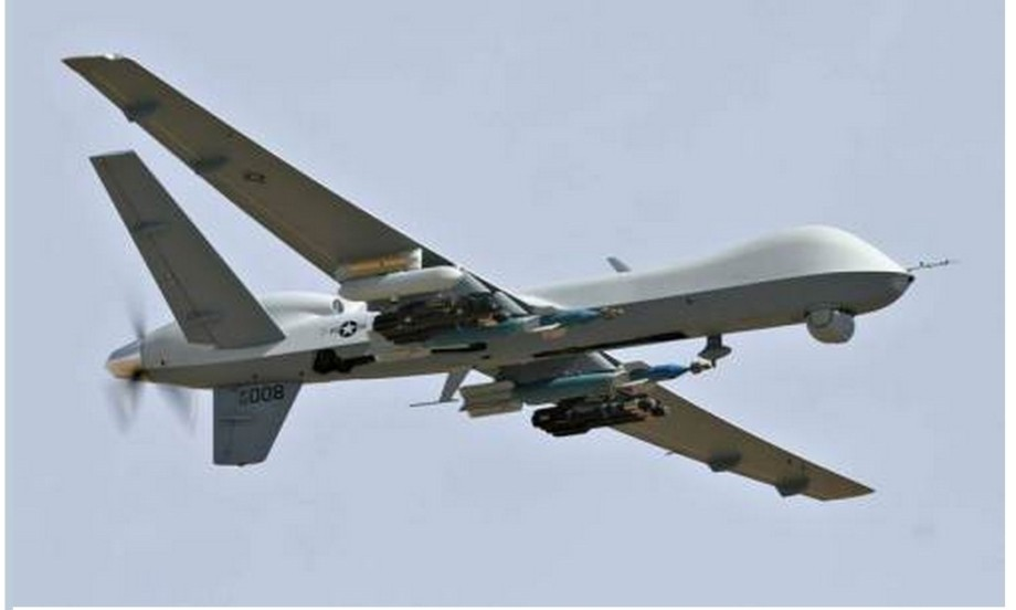 US predator drone now flying over NW LIBYA's Nafus Mountains and struck homes in Ajeelat