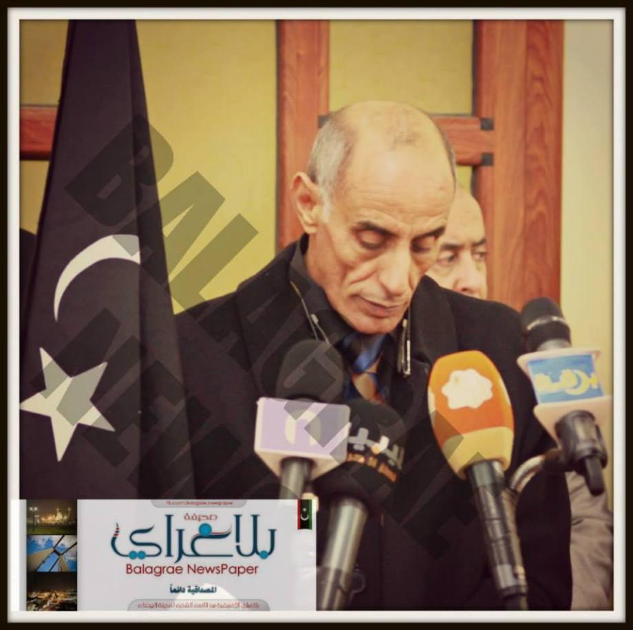 Abed RABBO BARASI, President of POLICAL BUREAU OF CYRENAICA
