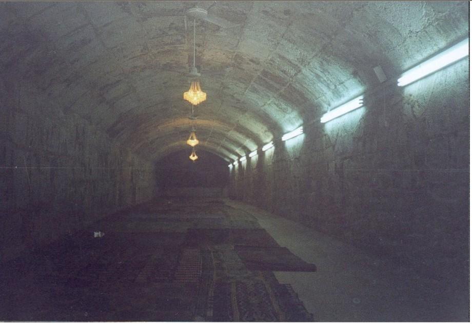 al musalla al-Marwani, inside