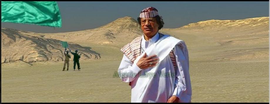 Algeria and LIBYA GREEN