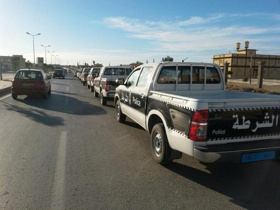 BANI WALID new Police trucks