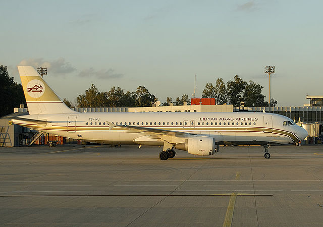 Libyan-Airlines-Airbus-A320-200 direct flight from CASABLANCA TO BENGHAZI