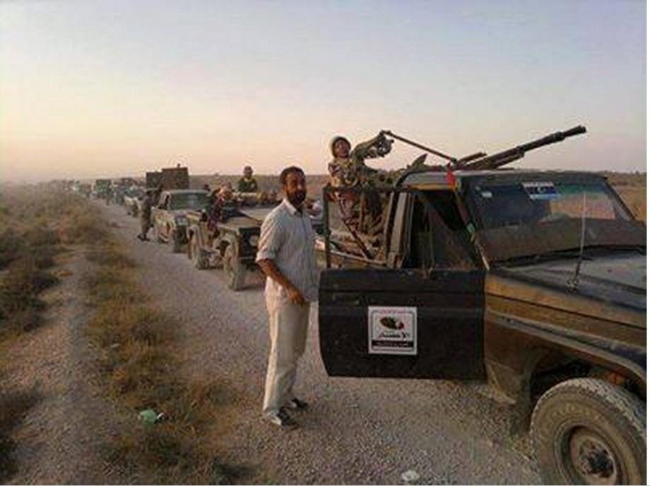 MISURATA forces heading SOUTH to SABHA.