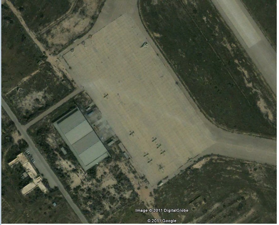 picture of the al-Jufrah airbase