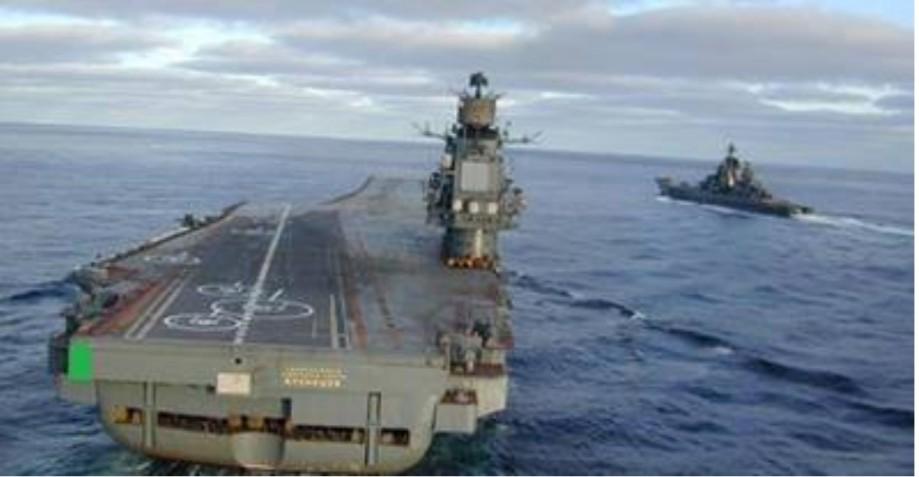SAADI's barge with air-landing strip