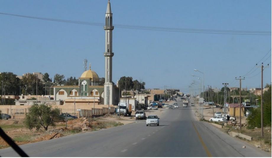 Taqwa Mosque Street Renaissance in GHARYAN, LIBYA