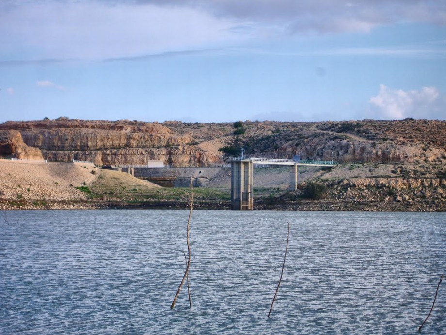 Wadi Kaam Dam near ZLITEN in MISURATA district