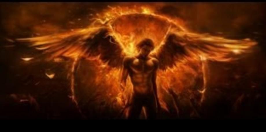 l'ange de feu