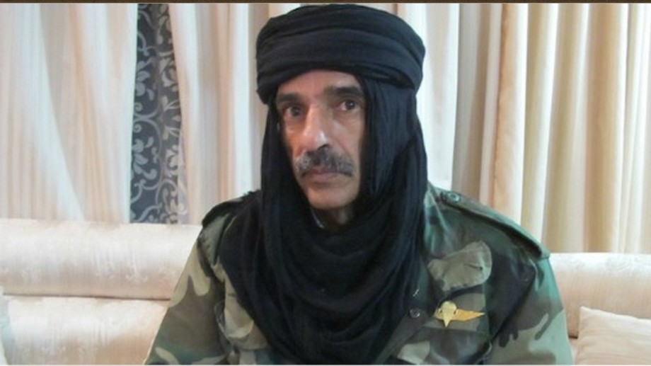 Mukhtar al-Akhdar (GREEN) vice president of the military council of Zintan