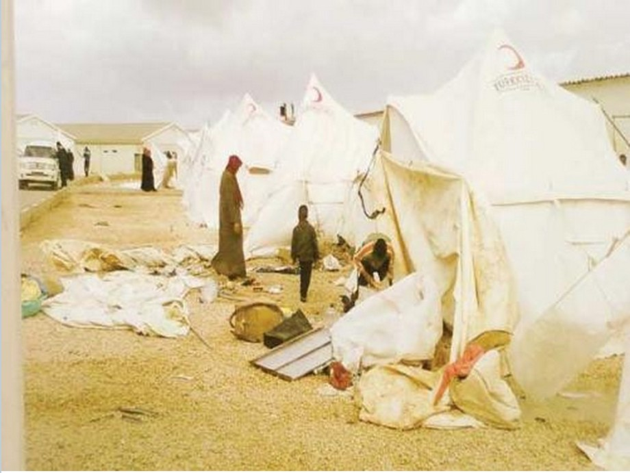 Tawergha Camp at Garyounis