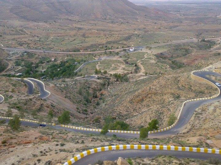 the road link between the capital and Gharyan