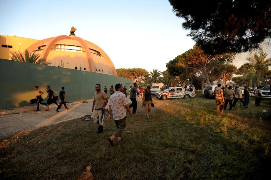 Libya revolution - the road to Tripoli