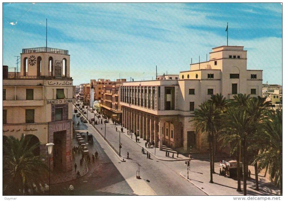 Omar Muctar Street in Tripoli