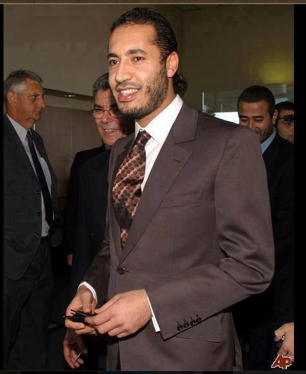 SAADI al-Qathafi long shot