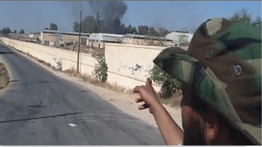 TRIPOLI AIRPORT ROAD  is secured by ZINTANI