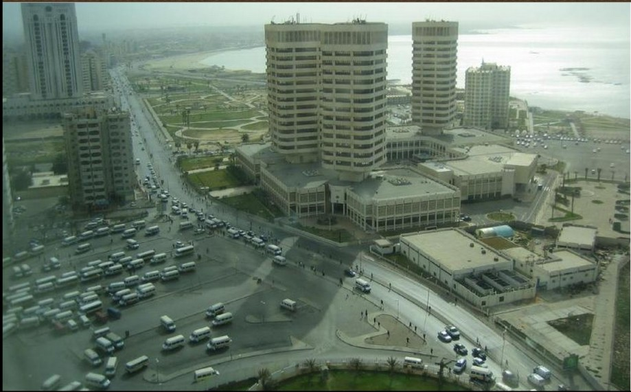 aerial view of Tripoli, Libya in 2007 Gary Denham, Flickr