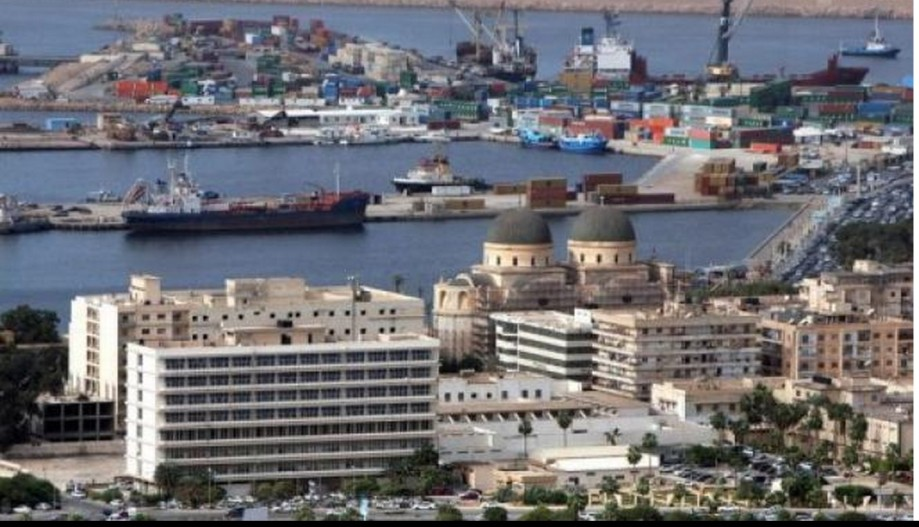 Benghazi Port View