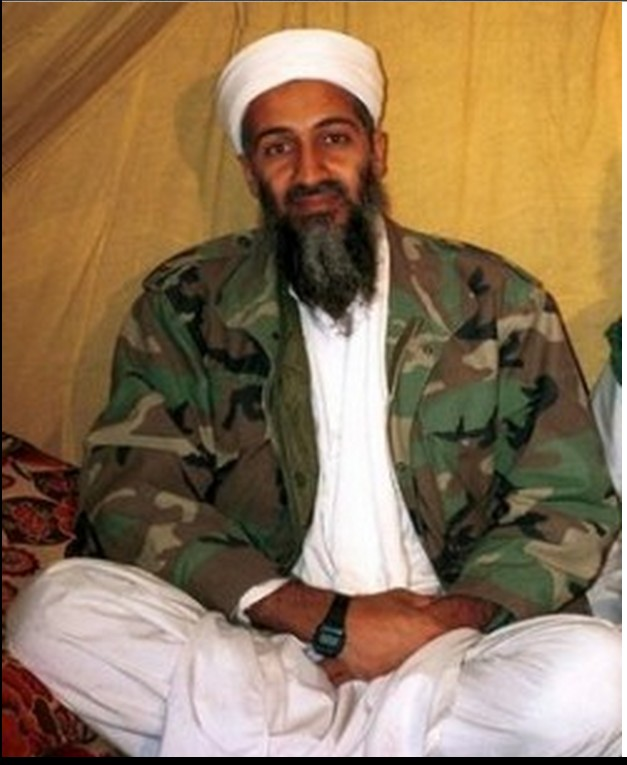 Bin Laden seen better days before 2001