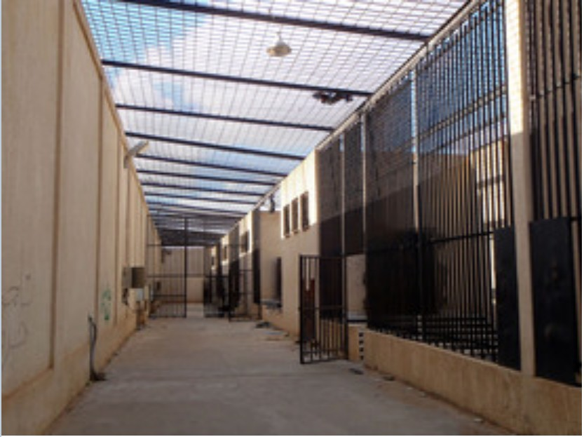 REBELS notorious Ain ZARA prison