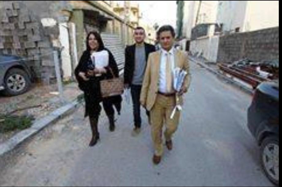 Abu Zeid key moments before his assination near Tibesti Hotel,Benghazi